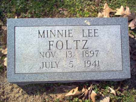 FOLTZ, MINNIE LEE - Cross County, Arkansas | MINNIE LEE FOLTZ - Arkansas Gravestone Photos