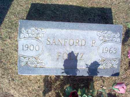 FOLTZ, SANFORD R - Cross County, Arkansas | SANFORD R FOLTZ - Arkansas Gravestone Photos