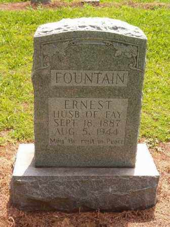 FOUNTAIN, ERNEST - Cross County, Arkansas | ERNEST FOUNTAIN - Arkansas Gravestone Photos