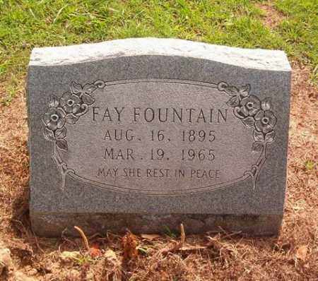 FOUNTAIN, FAY - Cross County, Arkansas | FAY FOUNTAIN - Arkansas Gravestone Photos