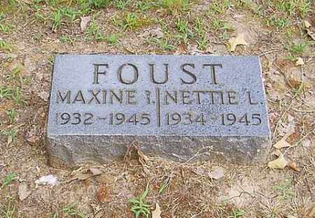 FOUST, NETTIE L. - Cross County, Arkansas | NETTIE L. FOUST - Arkansas Gravestone Photos