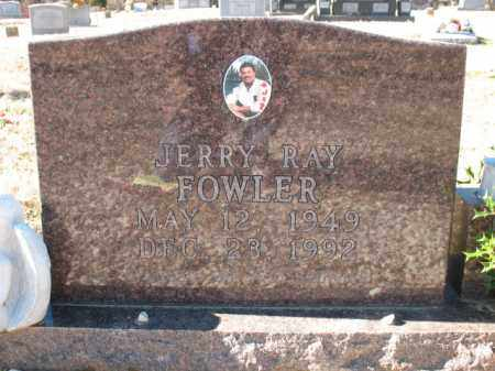 FOWLER, JERRY RAY - Cross County, Arkansas | JERRY RAY FOWLER - Arkansas Gravestone Photos
