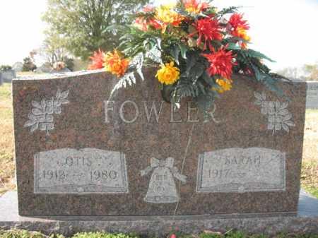 FOWLER, OTIS - Cross County, Arkansas   OTIS FOWLER - Arkansas Gravestone Photos
