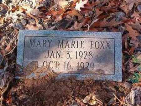 FOXX, MARY MARIE - Cross County, Arkansas | MARY MARIE FOXX - Arkansas Gravestone Photos