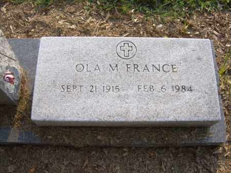 FRANCE, OLA M - Cross County, Arkansas | OLA M FRANCE - Arkansas Gravestone Photos