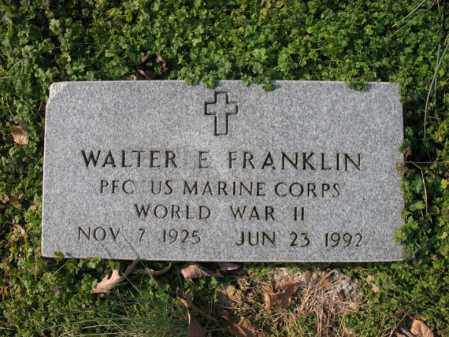 FRANKLIN, JR (VETERAN WWII), WALTER ELLIS - Cross County, Arkansas | WALTER ELLIS FRANKLIN, JR (VETERAN WWII) - Arkansas Gravestone Photos