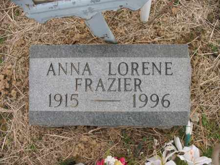 FRAZIER, ANNA LORENE - Cross County, Arkansas | ANNA LORENE FRAZIER - Arkansas Gravestone Photos
