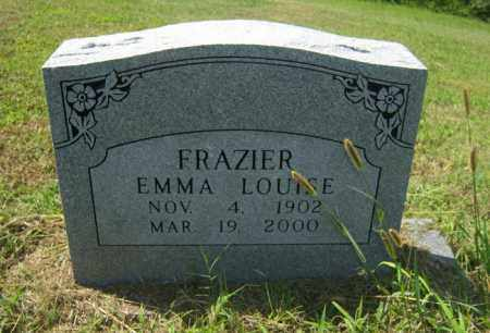 FRAZIER, EMMA LOUISE - Cross County, Arkansas | EMMA LOUISE FRAZIER - Arkansas Gravestone Photos