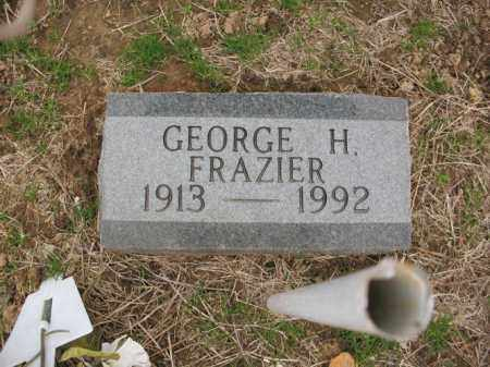 FRAZIER, GEORGE H - Cross County, Arkansas | GEORGE H FRAZIER - Arkansas Gravestone Photos