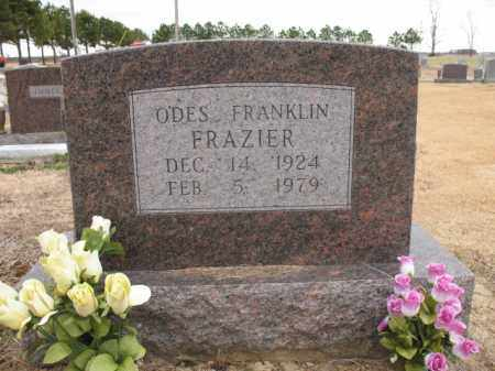 FRAZIER, ODES FRANKLIN - Cross County, Arkansas | ODES FRANKLIN FRAZIER - Arkansas Gravestone Photos