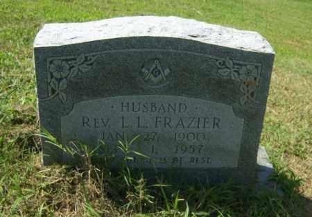 FRAZIER, REV L L - Cross County, Arkansas | REV L L FRAZIER - Arkansas Gravestone Photos