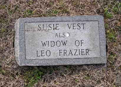 FRAZIER, SUSIE - Cross County, Arkansas | SUSIE FRAZIER - Arkansas Gravestone Photos