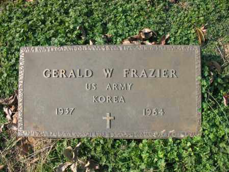 FRAZIER (VETERAN KOR), GERALD W - Cross County, Arkansas | GERALD W FRAZIER (VETERAN KOR) - Arkansas Gravestone Photos