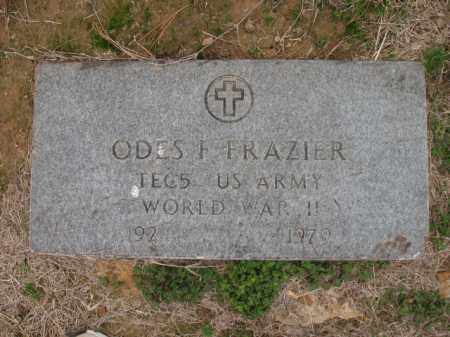 FRAZIER (VETERAN WWII), ODES FRANKLIN - Cross County, Arkansas | ODES FRANKLIN FRAZIER (VETERAN WWII) - Arkansas Gravestone Photos