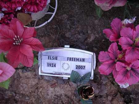 BELL FREEMAN, ELSIE - Cross County, Arkansas | ELSIE BELL FREEMAN - Arkansas Gravestone Photos