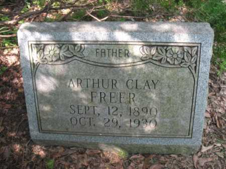 FREER, ARTHUR CLAY - Cross County, Arkansas | ARTHUR CLAY FREER - Arkansas Gravestone Photos