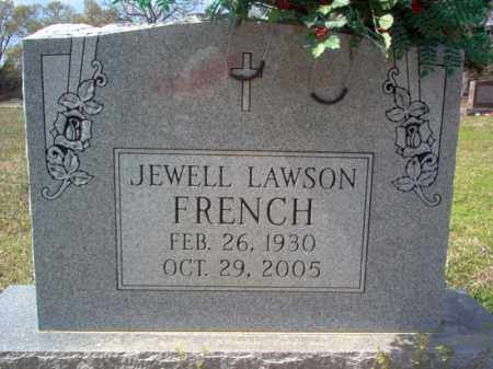 FRENCH, JEWELL - Cross County, Arkansas | JEWELL FRENCH - Arkansas Gravestone Photos
