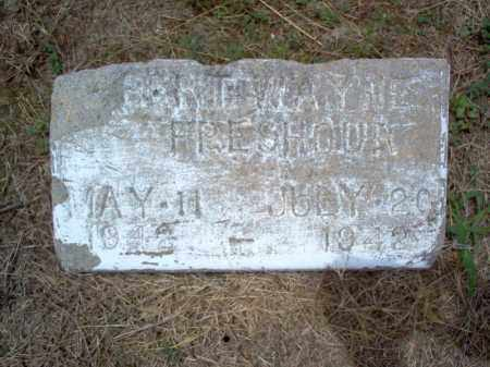 FRESHOUR, ROBERT WAYNE - Cross County, Arkansas | ROBERT WAYNE FRESHOUR - Arkansas Gravestone Photos