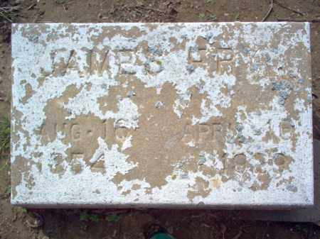 FRY, JAMES - Cross County, Arkansas | JAMES FRY - Arkansas Gravestone Photos