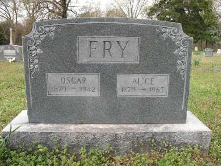 FRY, OSCAR - Cross County, Arkansas | OSCAR FRY - Arkansas Gravestone Photos