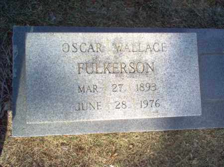 FULKERSON, OSCAR WALLACE - Cross County, Arkansas | OSCAR WALLACE FULKERSON - Arkansas Gravestone Photos