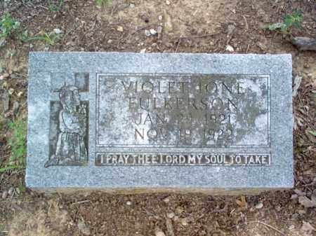 FULKERSON, VIOLET IONE - Cross County, Arkansas | VIOLET IONE FULKERSON - Arkansas Gravestone Photos