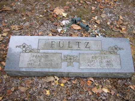 FULTZ, PENNIE - Cross County, Arkansas | PENNIE FULTZ - Arkansas Gravestone Photos