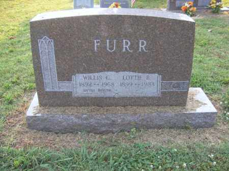 FURR, LOTTIE B - Cross County, Arkansas | LOTTIE B FURR - Arkansas Gravestone Photos