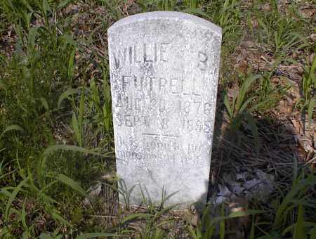 FUTRELL, WILLIE B - Cross County, Arkansas | WILLIE B FUTRELL - Arkansas Gravestone Photos