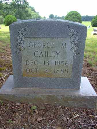 GAILEY, GEORGE M - Cross County, Arkansas | GEORGE M GAILEY - Arkansas Gravestone Photos