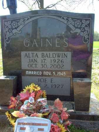 GAINES, ALTA - Cross County, Arkansas | ALTA GAINES - Arkansas Gravestone Photos