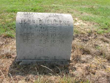 GAINES, JESSIE EUGENE - Cross County, Arkansas | JESSIE EUGENE GAINES - Arkansas Gravestone Photos