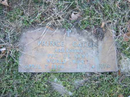 GATLIN (VETERAN WWI), PRINCE - Cross County, Arkansas | PRINCE GATLIN (VETERAN WWI) - Arkansas Gravestone Photos