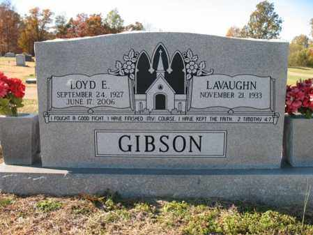 GIBSON, SR, LOYD ELBERT - Cross County, Arkansas | LOYD ELBERT GIBSON, SR - Arkansas Gravestone Photos