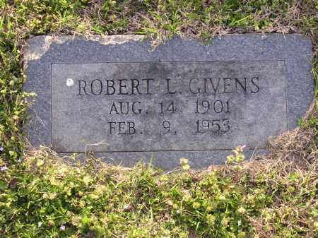 GIVENS, ROBERT L - Cross County, Arkansas | ROBERT L GIVENS - Arkansas Gravestone Photos