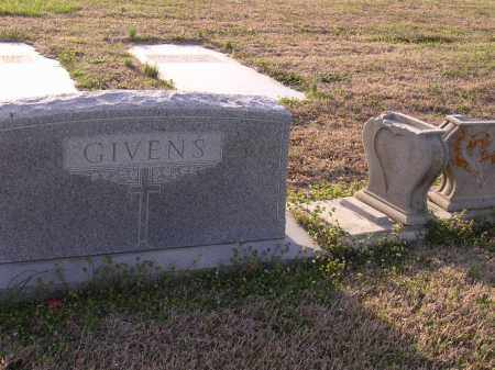 GIVENS, PLOT STONE - Cross County, Arkansas | PLOT STONE GIVENS - Arkansas Gravestone Photos