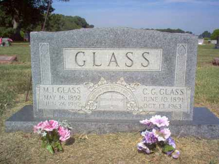 GLASS, M I - Cross County, Arkansas | M I GLASS - Arkansas Gravestone Photos