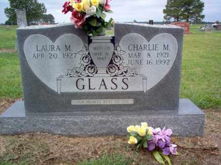 GLASS, CHARLIE M - Cross County, Arkansas | CHARLIE M GLASS - Arkansas Gravestone Photos