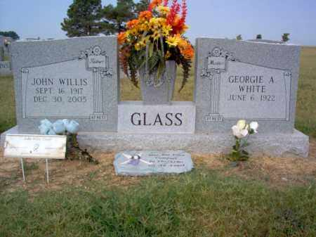 GLASS, JOHN WILLIS - Cross County, Arkansas | JOHN WILLIS GLASS - Arkansas Gravestone Photos