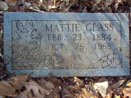 GLASS, MATTIE - Cross County, Arkansas | MATTIE GLASS - Arkansas Gravestone Photos