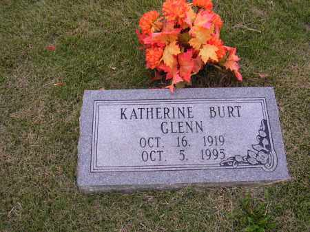 GLENN, KATHERINE BURT - Cross County, Arkansas | KATHERINE BURT GLENN - Arkansas Gravestone Photos