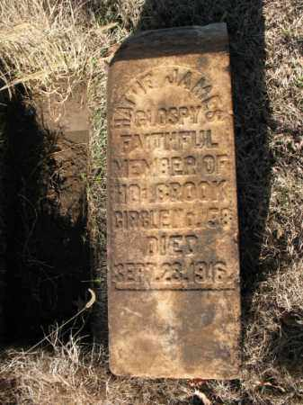 JAMES GLOSPY, HATTIE - Cross County, Arkansas | HATTIE JAMES GLOSPY - Arkansas Gravestone Photos