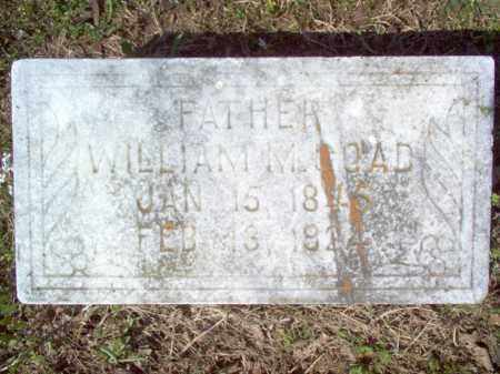 GOAD, WILLIAM M - Cross County, Arkansas | WILLIAM M GOAD - Arkansas Gravestone Photos