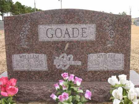 GOADE, MYRTLE - Cross County, Arkansas | MYRTLE GOADE - Arkansas Gravestone Photos