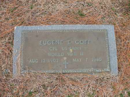 GOFF (VETERAN WWII), EUGENE E - Cross County, Arkansas | EUGENE E GOFF (VETERAN WWII) - Arkansas Gravestone Photos