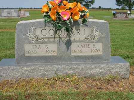 GOODART, IRA G - Cross County, Arkansas | IRA G GOODART - Arkansas Gravestone Photos