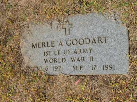 GOODART, SR (VETERAN WWII), MERLE ADELBERT - Cross County, Arkansas | MERLE ADELBERT GOODART, SR (VETERAN WWII) - Arkansas Gravestone Photos
