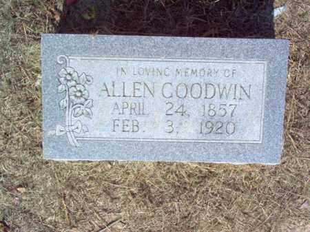 GOODWIN, ALLEN - Cross County, Arkansas | ALLEN GOODWIN - Arkansas Gravestone Photos
