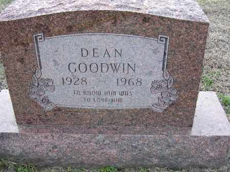 GOODWIN, DEAN - Cross County, Arkansas | DEAN GOODWIN - Arkansas Gravestone Photos