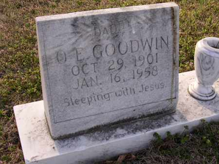 GOODWIN, O E - Cross County, Arkansas | O E GOODWIN - Arkansas Gravestone Photos